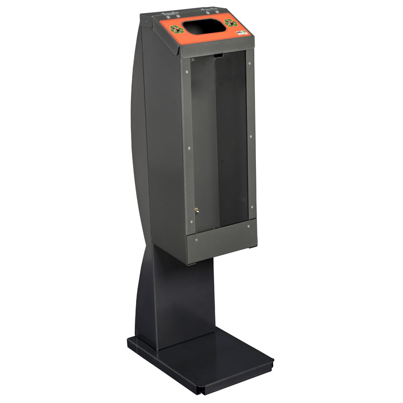 Collecteur piles battery bin collector CP15L_Pile PourlaVie