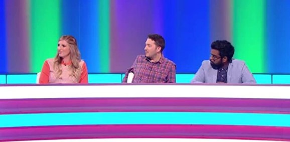 Rebecca Adlington joins Comedians Jon Richardson and Romesh Ranganathan