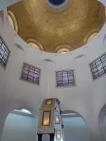 Mt of Beatitudes Church ceiling