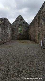 East gable of the church at Urlaur