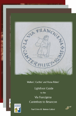 Lightfoot Via Francigena Guides, 4 Volumes
