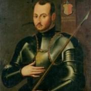 St Ignatius of Loyola in armor