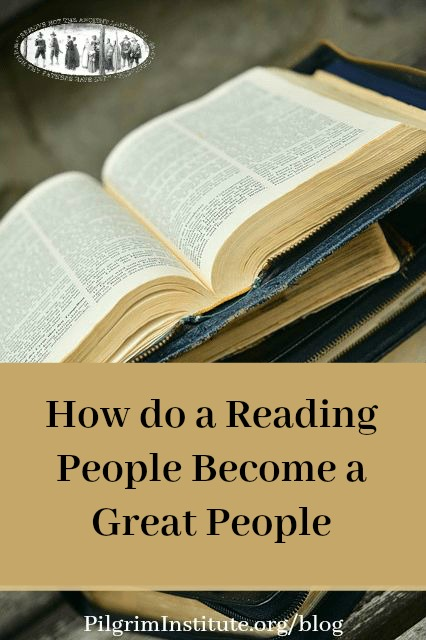 How do a reading people become a great people