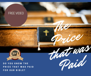 Do you know the price that was paid for the Bible? Join Ruth Smith in this powerful family presentation.