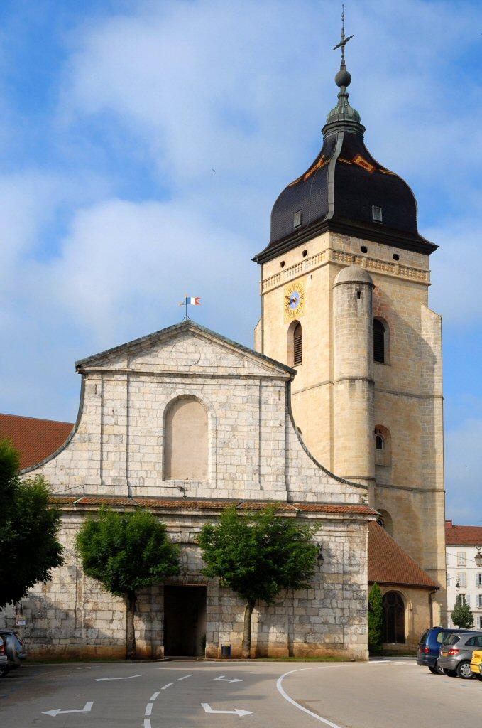 Pontarlier Church of St Benigne