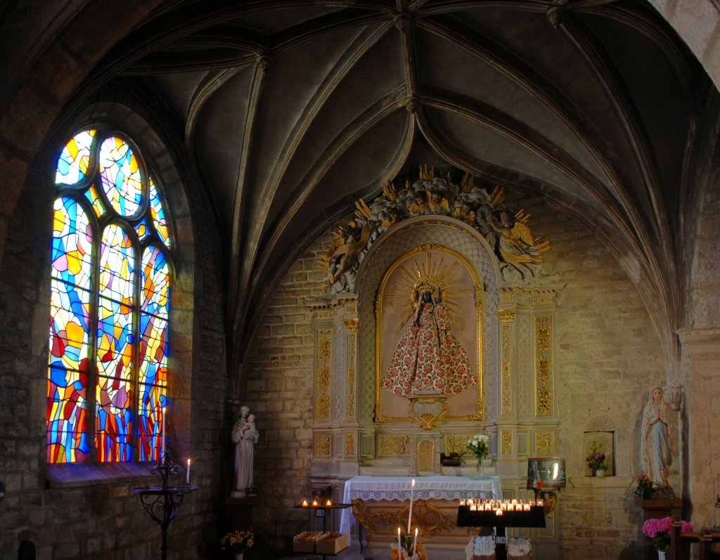 Pontarlier St Benigne, Chapel of Our Lady