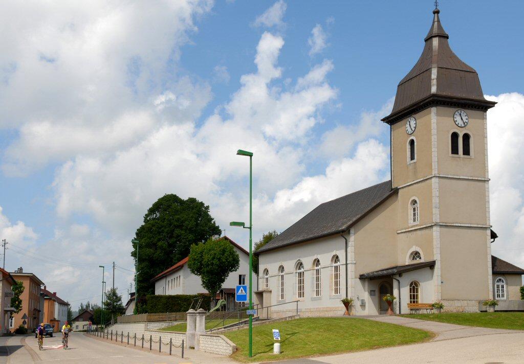 Church in L'Auberson