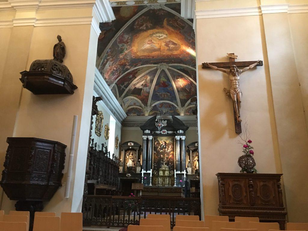 Chapel in the Monastery/Hospice of St Bernard