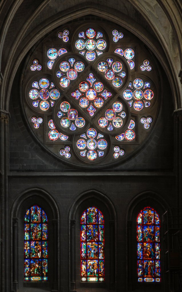 Lausanne Cathedral Rose Window