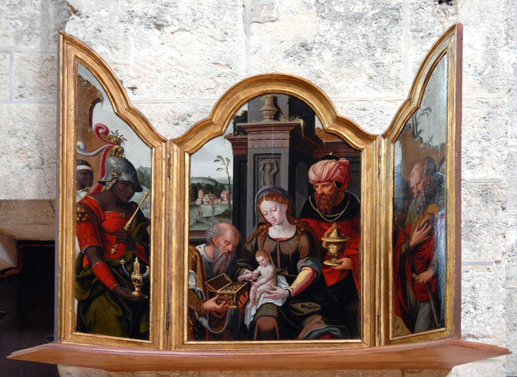Chalons-en-Champagne Eglise Notre Dame des Vaux triptych