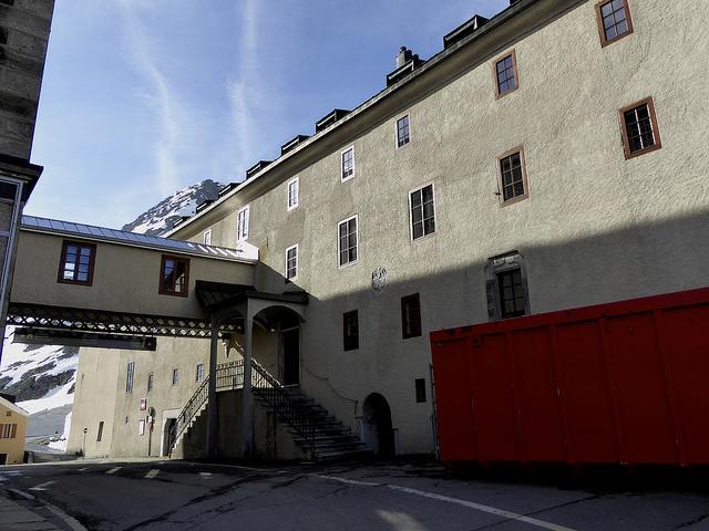 The monastery, Grand St Bernards Pass.