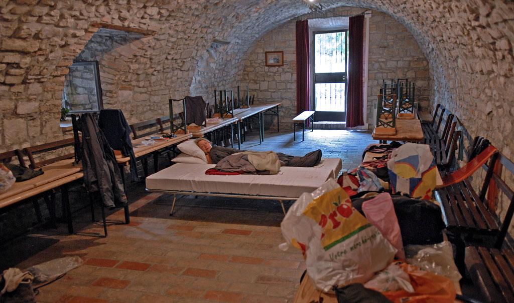 Svizzano - pilgrim hostel