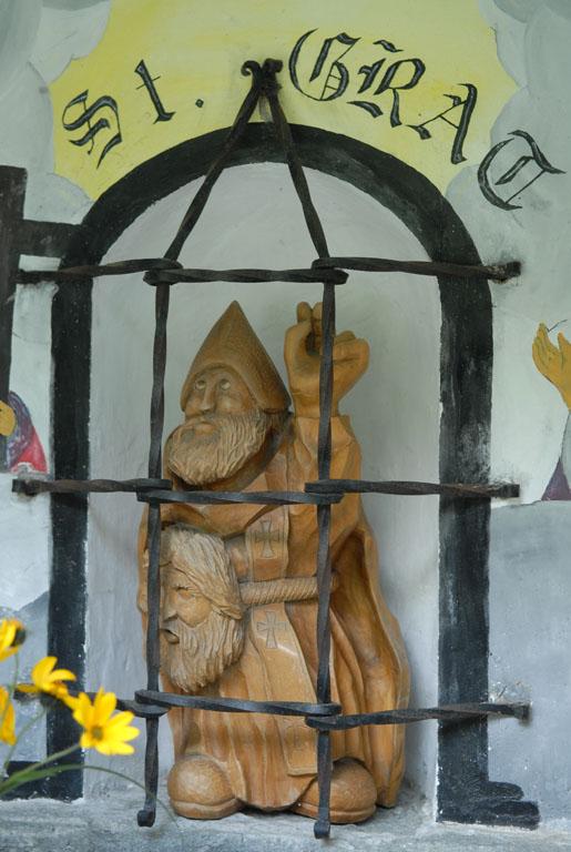 Wayside Shrine St Girat nr Verres