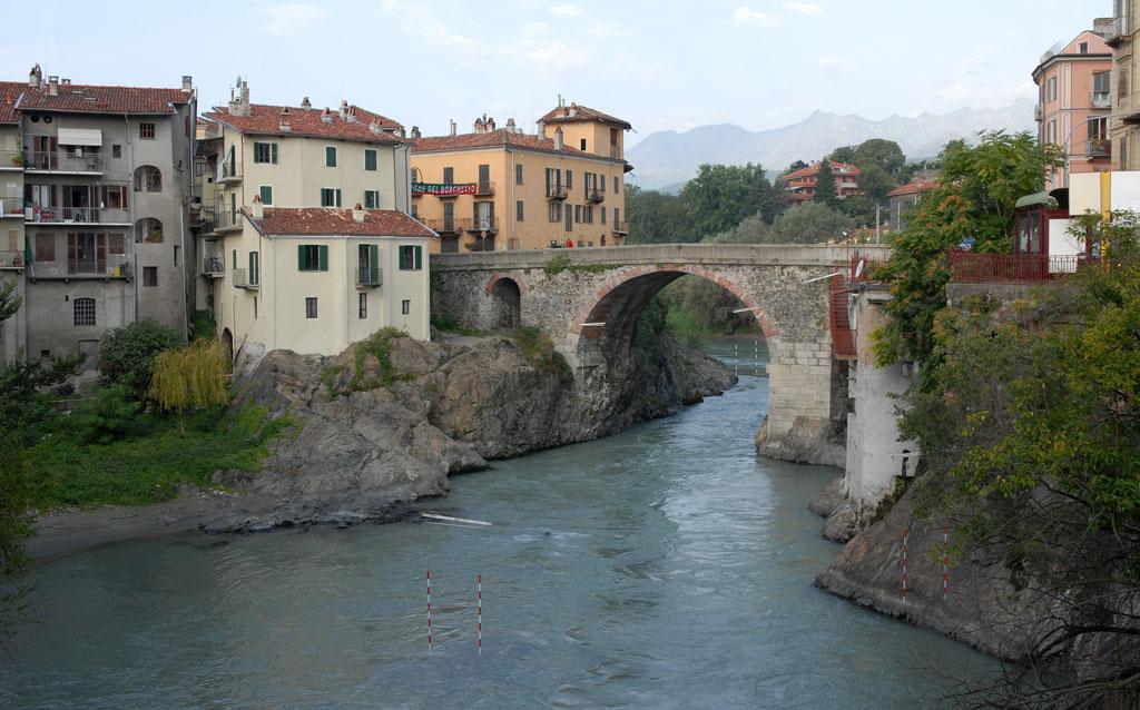 Ivrea old bridge