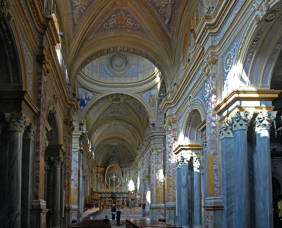Nave of Ivrea Cathedral