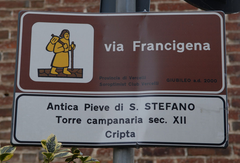 Ancient Road of St Stefano, Santhia