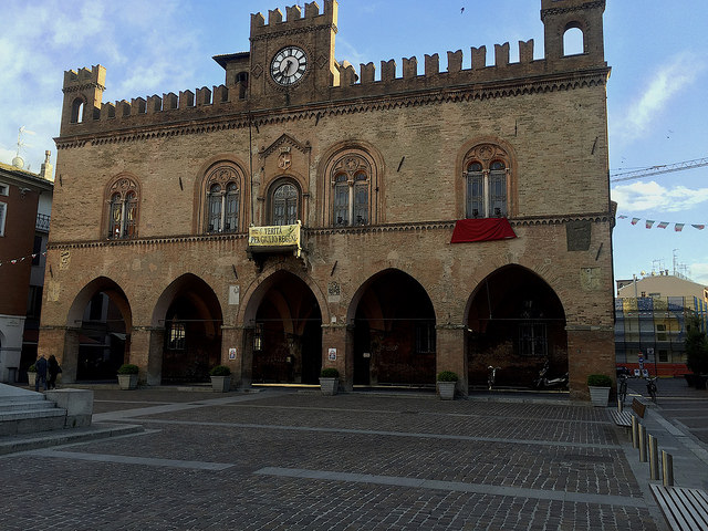 Fidenza, former palace now the town hall