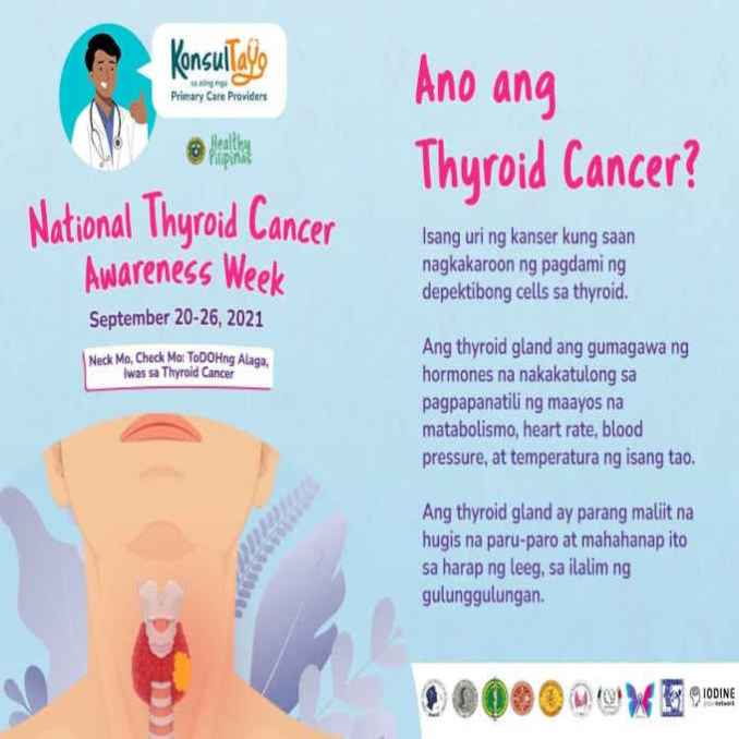 ano ang thyroid cancer