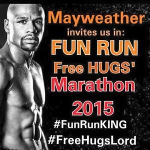 Mayweather fun run