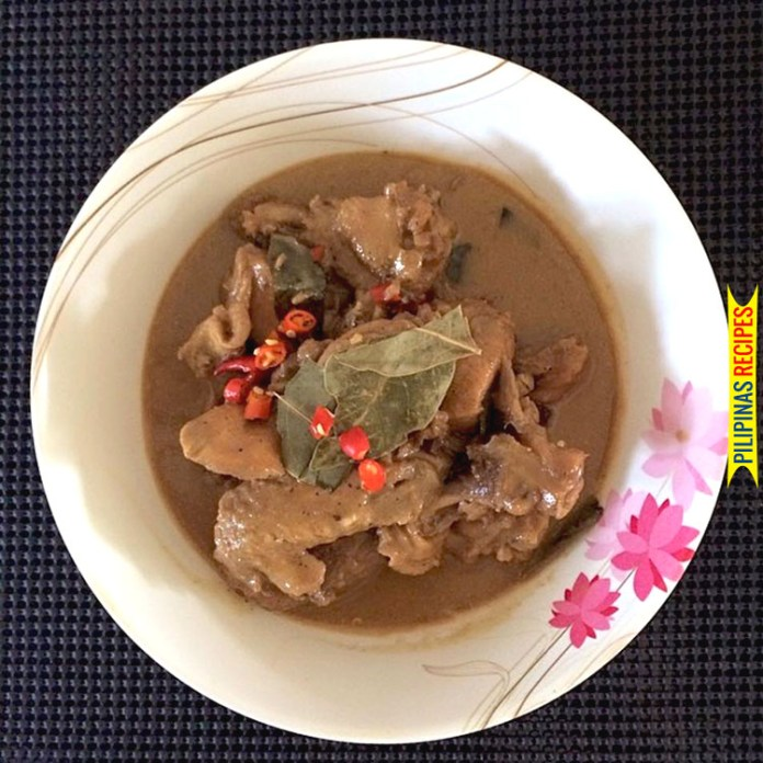 Creamy Chicken Adobo with Chili
