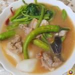 Pork Sinigang with Gabi