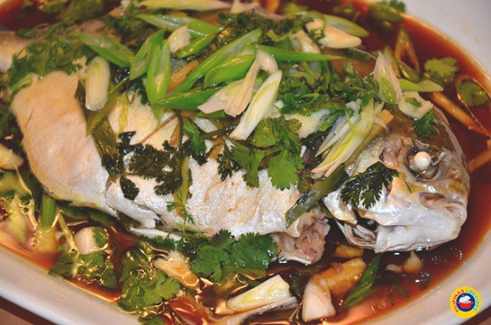 Steamed Fish Recipe with Oil