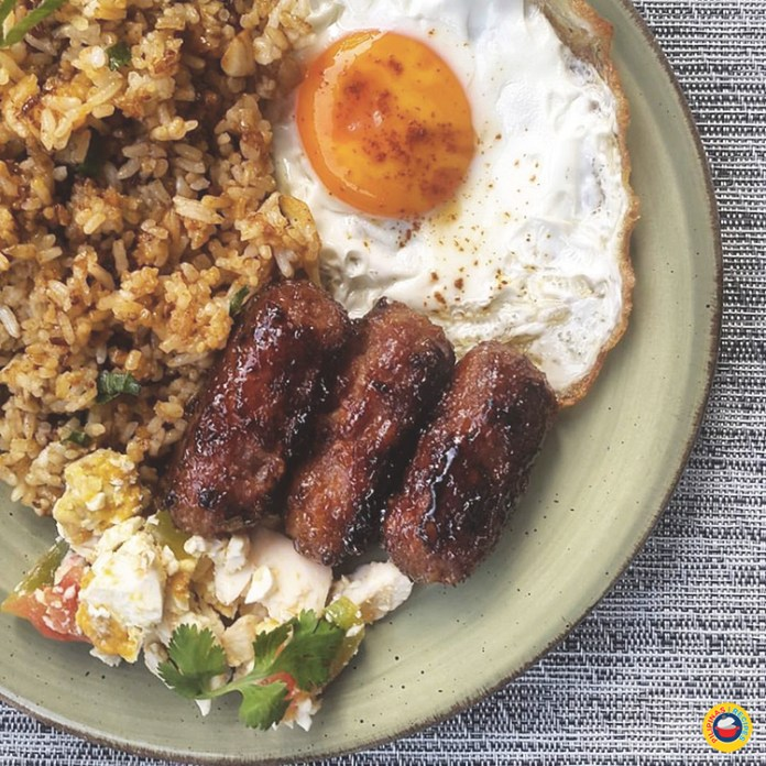Garlic Fried Rice with Longganisa and Egg