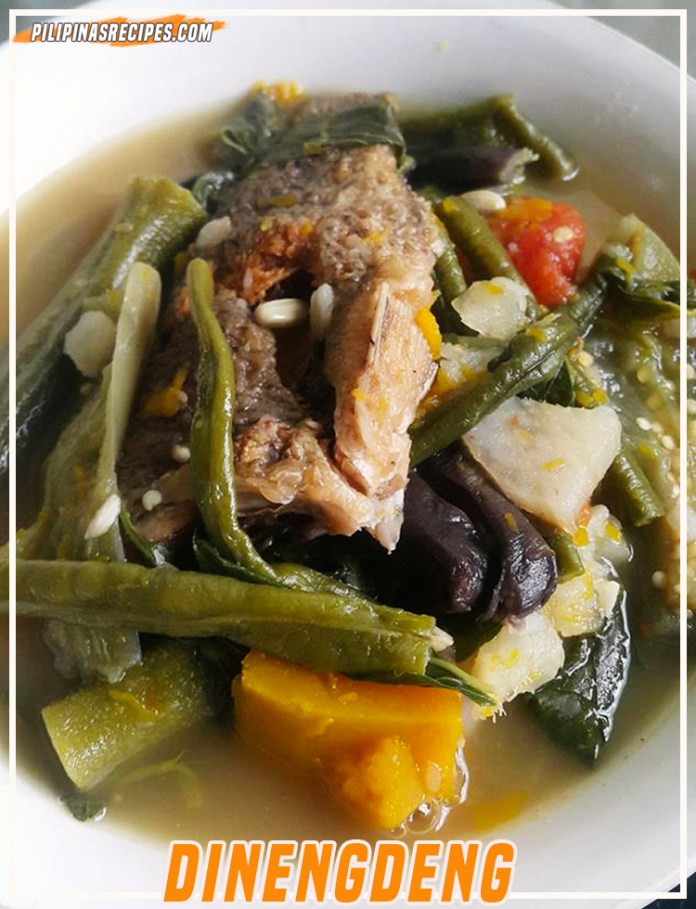 Dinengdeng with Fish
