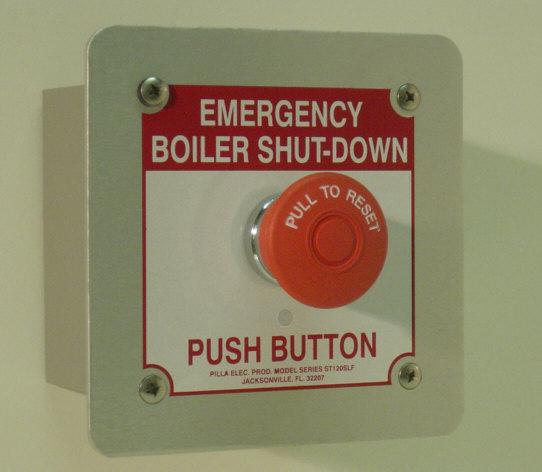 Shut Down Button Mushroom