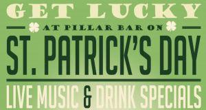 St. Patrick's Day Pillar Rooftop Bar