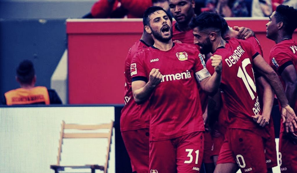 Kevin Volland freut sich über sein Tor gegen Paderborn, Bayer 04 Blog Pillenliebe berichtet