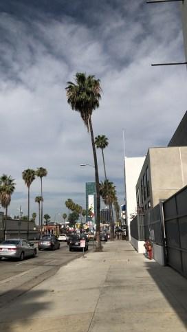 Los Angeles, en milieu de matinée.