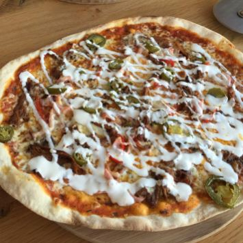 Blazing Saddle Pizza