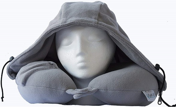 best travel pillow with hood may 2021 pillow click