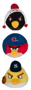 Plush Angry Birds with your favorite Major League Baseball teams