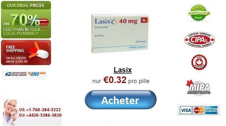 Acheter Lasix Furosemide en ligne sans ordonnance