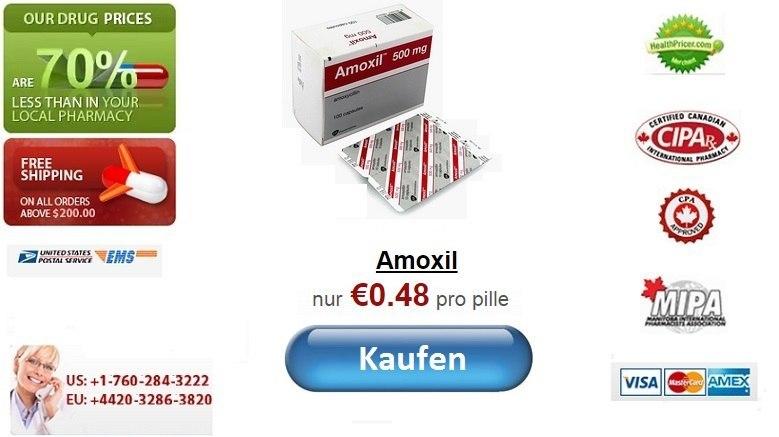 Amoxil online rezeptfrei in Deutschland kaufen