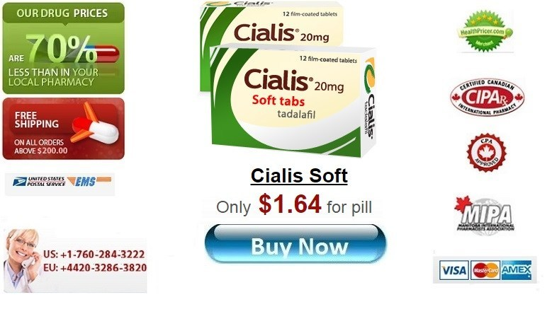 Buy Cialis Soft online without prescription