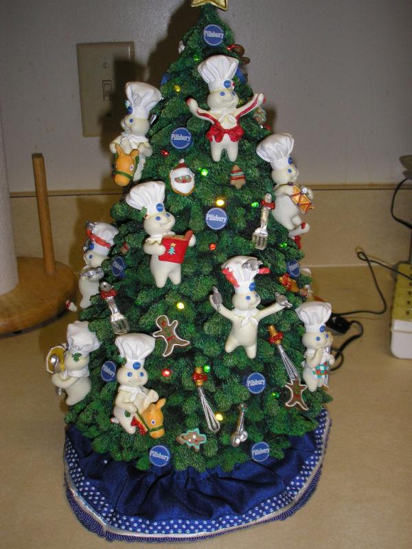 Pillsbury Doughboy Danbury Mint Christmas Tree
