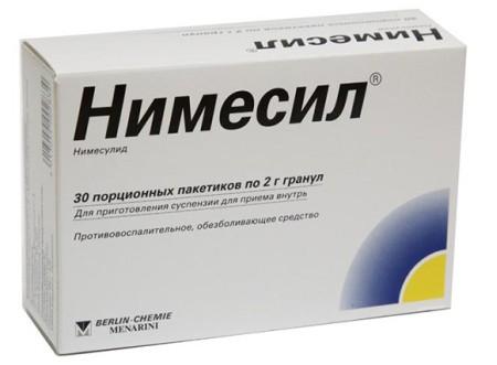 Нимесил и антибиотики совместимость. Нимесил и алкоголь: совместимость
