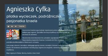 Agnieszka Cyfka PILOT WYCIECZEK