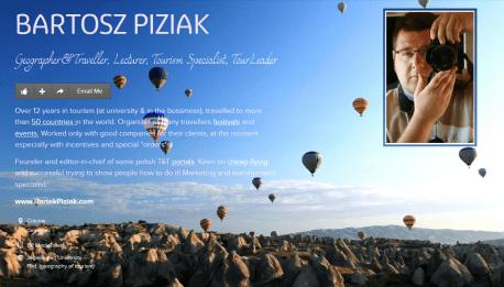 Bartosz Piziak PILOT WYCIECZEK