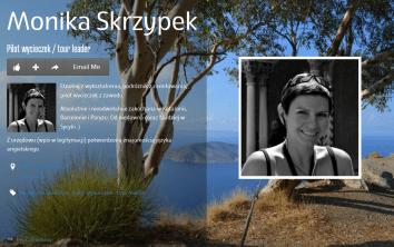 Monika Skrzypek PILOT WYCIECZEK