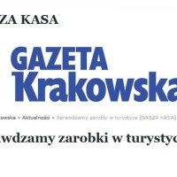 Zarobki w turystyce wg Gazety Krakowskiej