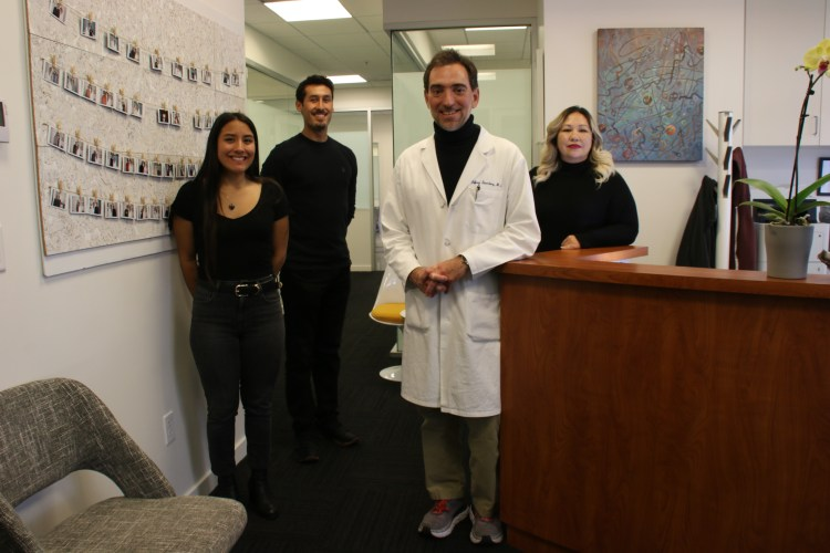 Dr. Jeffrey Sternberg and his staff