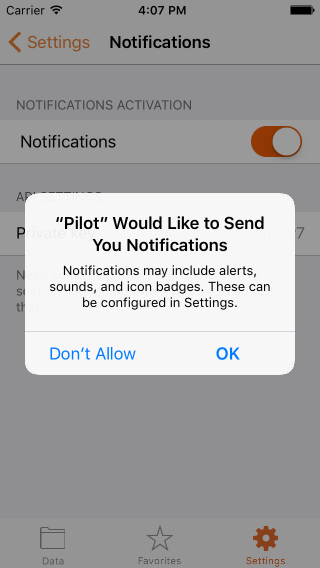 Domoticz tutorial: push notifications - Pilot