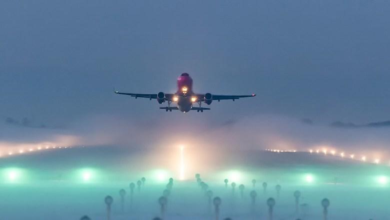 Take Off During Fog