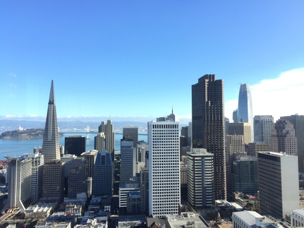 Crown Room view of downtown San Francisco