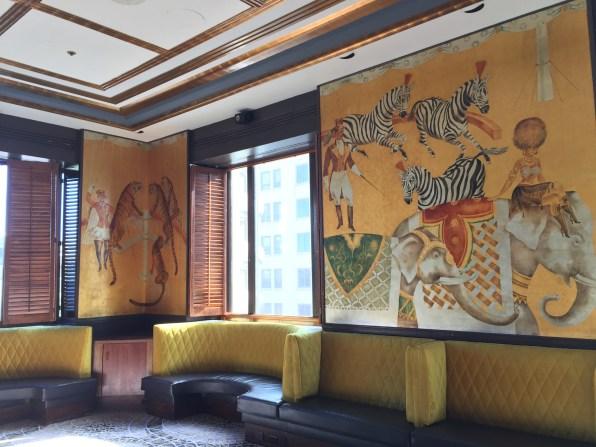 Cirque Bar at the Fairmont Hotel