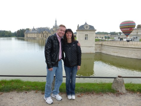 Todd and Oana at Chantilly Chateau